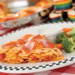 Skillet Ravioli Pizza