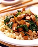 Bok Choy and Tofu Stir-Fry
