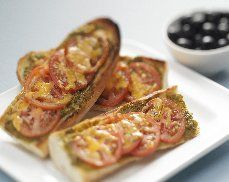 Skinny French Bread Pizza