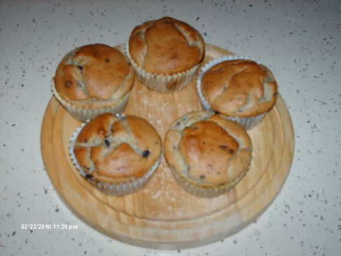 Jody's Kitchen Presents Tofu Blueberry Muffins