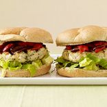 Feta-Stuffed Chicken Burgers