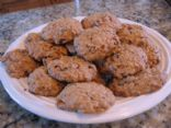 Chocolate Chip Butterscotch Oatmeal Cookies (made with pudding, no eggs)