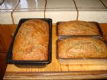 Whole Wheat Zucchini Bread