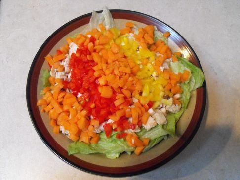 Zesty Chopped Salad with Tuna