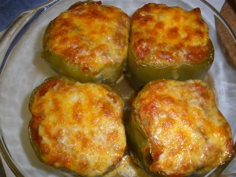 Turkey Stuffed Bell Peppers