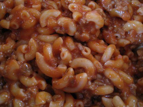 Tomato Goulash