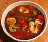 Hearty Italian Soup with Tortellini