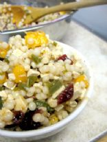 Jalapeno Cranberry Papaya Couscous