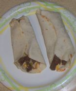 Cheesy Spicy Steak Fajita's