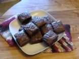 Dark Chocolate Flax Brownies