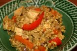 Chicken Curry Barley Risotto