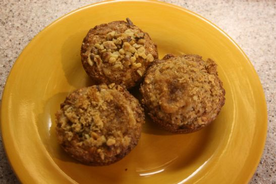 oatmeal-applesauce muffin