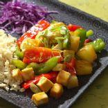 PIneapple Tofu Stir Fry