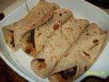 Black Bean and Yam Burritos
