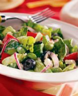 Greek Salad with Tofu from Eating Well Recipes