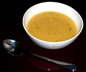 Chilli & Ginger Sweet Potato Soup