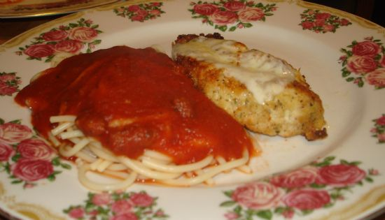 Tasty and Healthy Chicken Parmesan (Pics included)
