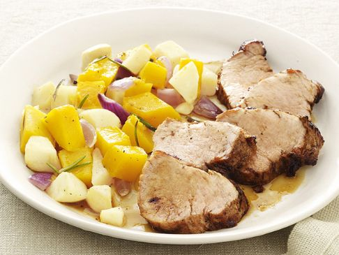 Pork with Squash and Apples