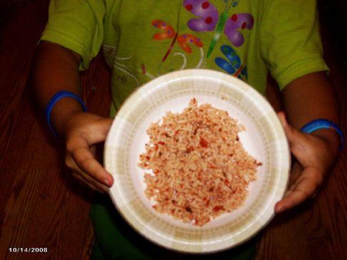 No fat spanish Rice