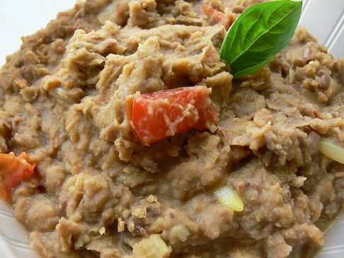 Bilby's refried beans