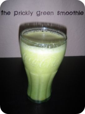 Prickly Green Smoothie