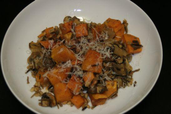 Wild Rice Vegetable Bake
