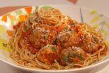 Skinny Spaghetti & Meatballs