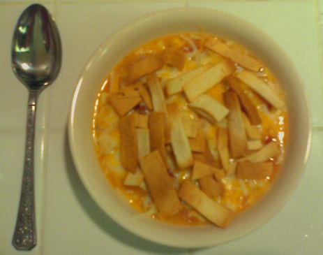Tasty Chicken Tortilla Soup