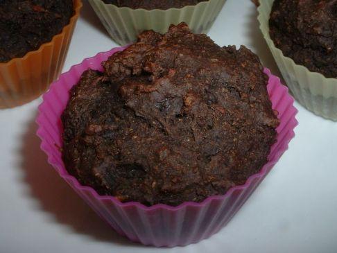 Red Devil Chocolate Muffins