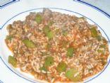 skillet suffed pepper casserole