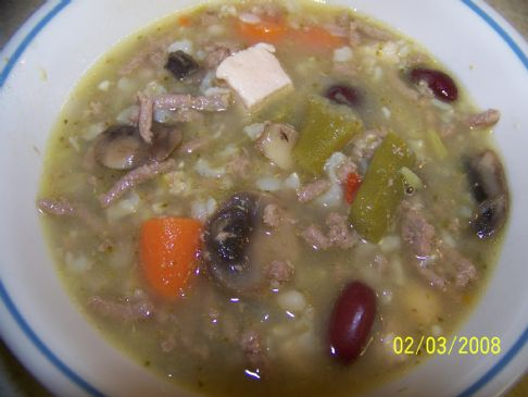 Mom's Souperbowl Soup