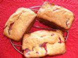 Banana Strawberry Bread Mini-Loafs