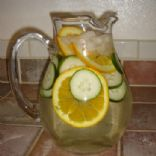 Thirst Quenching Cucumber/Orange Water