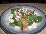 Feta Yam Spinach Salad