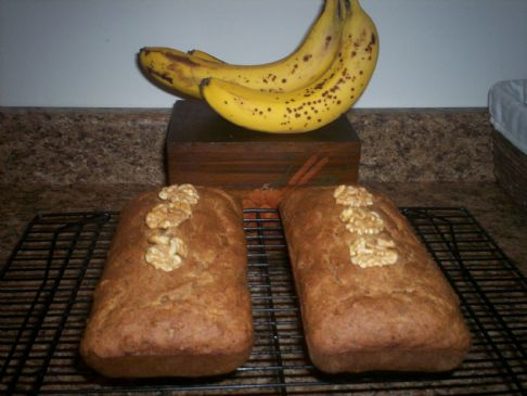 Banana Nut Bread (Good For You!)