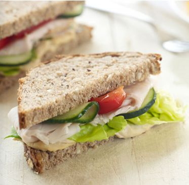 Mediterranean Turkey Sandwich