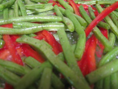 Sesame Stir-Fried Green Beans