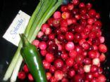 Sugar free Cranberry Salsa