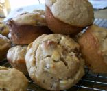 Studded Peanut Butter Banana Muffins
