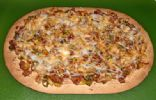 Flatout Mexican BBQ Pizza