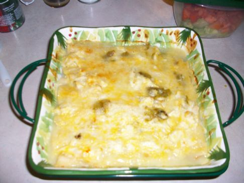 chicken enchilada casarole