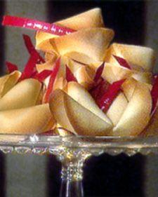 Martha Stewart's Fortune Cookies