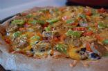 Spicy Southwestern Pizza