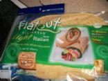 JASONZ's Flatout Flatbread Garlic Chicken Pizza