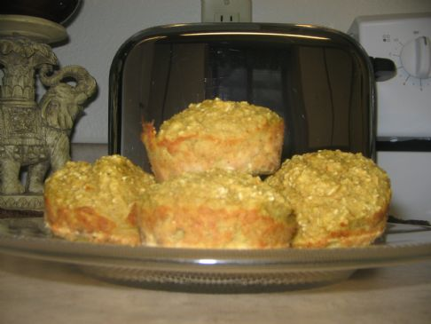 oat meal fruit muffin