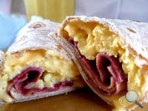 HG's Yumtastic Breakfast Burrito