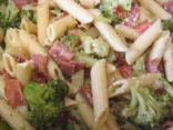Penne Pasta with Broccoli & Bacon