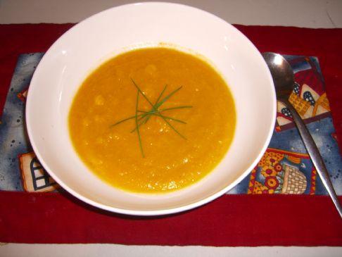 pumkin and corn soup