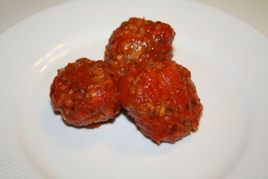 Lisa's TVP Italian Meatballs