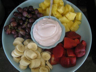 A Luscious Fruit Dip